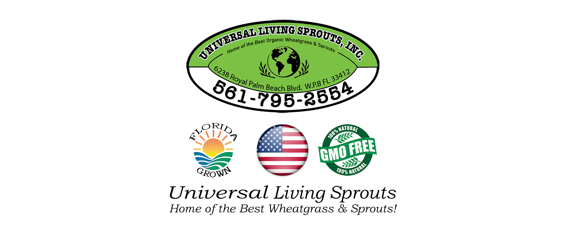 Universal Living Sprouts Home Page Banner